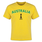 Australia FIFA U-17 World Cup Chile 2015 Youth T-Shirt (Yellow)
