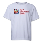 FIFA Women's World Cup Youth T-Shirt (White)