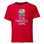 FIFA Women's World Cup Youth T-Shirt (Red)