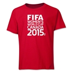 FIFA Women's World Cup Canada 2015(TM) Youth T-Shirt (Red)