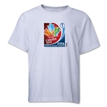 FIFA Women's World Cup Canada 2015(TM).French Core Youth T-Shirt (White)