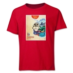 FIFA Women's World Cup Canada 2015(TM) Poster Youth T-Shirt (Red)