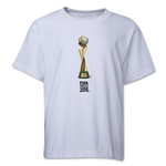 FIFA Women's World Cup Canada 2015(TM).Trophy 2 Youth T-Shirt (White)