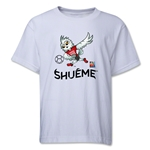 FIFA Women's World Cup Canada 2015(TM) Mascot Pose 3 Youth T-Shirt (White)