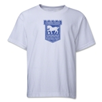 Ipswich Town Distressed Youth T-Shirt (White)