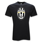 Juventus Youth Big Crest T-Shirt (Black)
