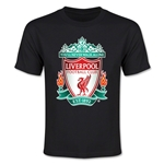 Liverpool Crest Youth T-Shirt (Black)