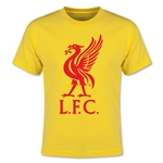 Liverpool Liver Bird Youth T-Shirt (Yellow)