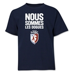 LOSC Lille We Are Youth T-Shirt (Navy)