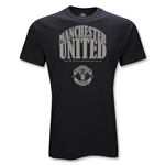 Manchester United Youth Arch T-Shirt (Black)