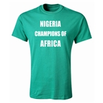 Nigeria 2013 Champions of Africa Youth T-Shirt (Green)