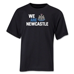 Newcastle United We Are Newcastle Youth T-Shirt (Black)