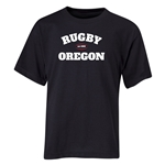 Rugby Oregon Youth T-Shirt (Black)