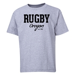 Rugby Oregon Youth T-Shirt (Gray)