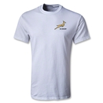 South Africa Springboks Youth Logo SS T-Shirt (White)
