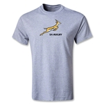 South Africa Springboks Bok Logo Youth T-Shirt (Gray)