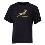 South Africa Springboks Youth T-Shirt (Black)