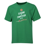 FC Santa Claus Sleighing the Competition Youth T-Shirt (Green)