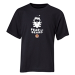 FC Santa Claus Fear the Beard Youth T-Shirt (Black)