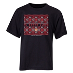 FC Santa Claus Christmas Sweater Youth T-Shirt (Black)