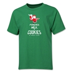 FC Santa Claus Milk and Cookies Youth T-Shirt (Green)
