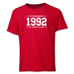 FC Santa Claus Established 1992 Youth T-Shirt (Red)