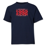 FC Santa Claus Established 1992 Youth T-Shirt (Navy)