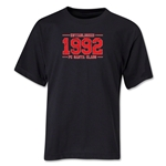 FC Santa Claus Established 1992 Youth T-Shirt (Black)