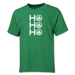 FC Santa Claus Ho, Ho, Ho Youth T-Shirt (Green)