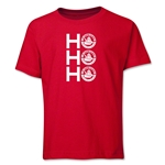 FC Santa Claus Ho, Ho, Ho Youth T-Shirt (Red)