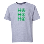 FC Santa Claus Ho, Ho, Ho Youth T-Shirt (Grey)