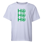 FC Santa Claus Ho, Ho, Ho Youth T-Shirt (White)