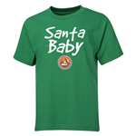 FC Santa Claus Santa Baby Youth T-Shirt (Green)