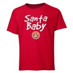FC Santa Claus Santa Baby Youth T-Shirt (Red)