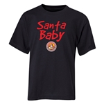 FC Santa Claus Santa Baby Youth T-Shirt (Black)