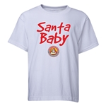 FC Santa Claus Santa Baby Youth T-Shirt (White)