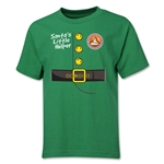 FC Santa Claus Santa's Little Helper Youth T-Shirt (Green)