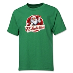 FC Santa Claus Animated Santa Youth T-Shirt (Green)