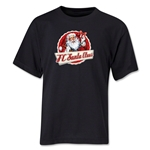 FC Santa Claus Animated Santa Youth T-Shirt (Black)
