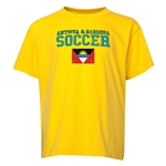 Antigua & Barbuda Youth Soccer T-Shirt (Yellow)