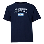 Argentina Youth Football T-Shirt (Navy)