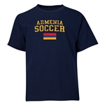 Armenia Youth Soccer T-Shirt (Navy)