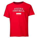 Austria Youth Football T-Shirt (Red)