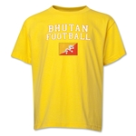 Bhutan Youth Football T-Shirt (Yellow)