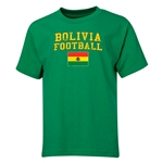 Bolivia Youth Football T-Shirt (Green)