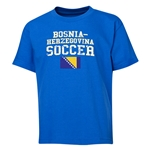 Bosnia-Herzegovina Youth Soccer T-Shirt (Royal)