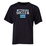 Botswana Youth Soccer T-Shirt (Black)