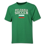 Bulgaria Youth Soccer T-Shirt (Green)
