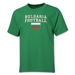 Bulgaria Youth Football T-Shirt (Green)