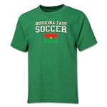 Burkina Faso Youth Soccer T-Shirt (Green)